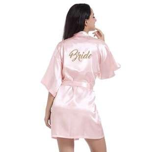 'Bride' Robe