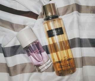 Victoria's Secret and Zara Perfume