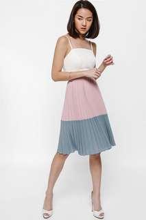Love Bonito Melanya Colourblock Pleated Skirt
