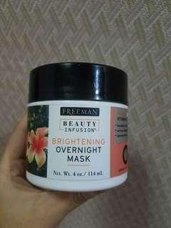 Freeman Beauty Infusion Brightening Hibiscus & Vitamin C Overnight Mask 114ml