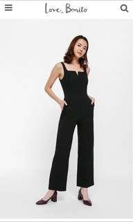 Love Bonito Jurpita Jumpsuit in Black