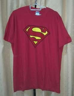SUPERMAN T-SHIRT (RED)