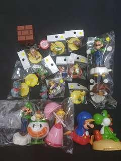 Bundle of Super Mario Toys