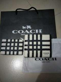 authethic coach wallet