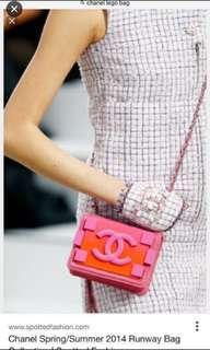 🔥罕🔥Limited Edition Chanel Boy Brick Mini Flap Bag