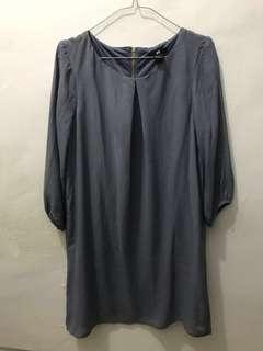 H&M Grey Oversized Dress, M