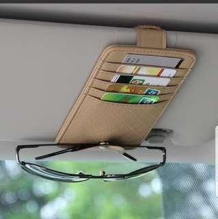 🚚 Car Card Holder Spectacle Clip