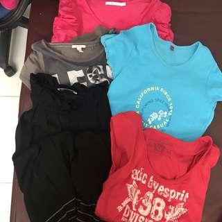 Bundle Sale Assorted Shirts