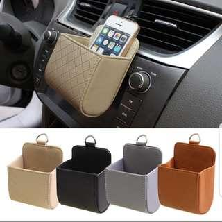 🚚 Car Leather Clip Organiser