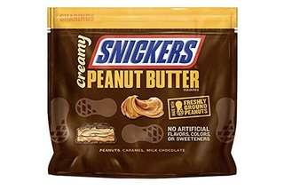 Snickers Creamy SNICKERS Peanut Butter Square Candy Bars, 7.7 (218 Gm) Ounce Bag (US)