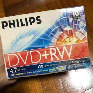 PHILIPS DVD + RW (Blank Disks)