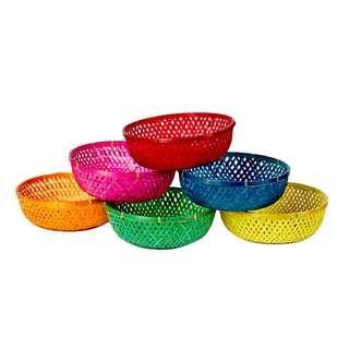 Retro Kolourklash Baskets
