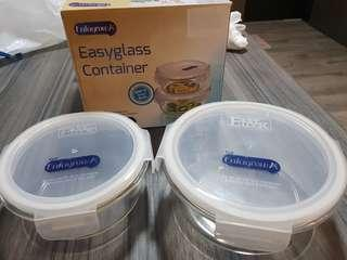 Glass containers for 2