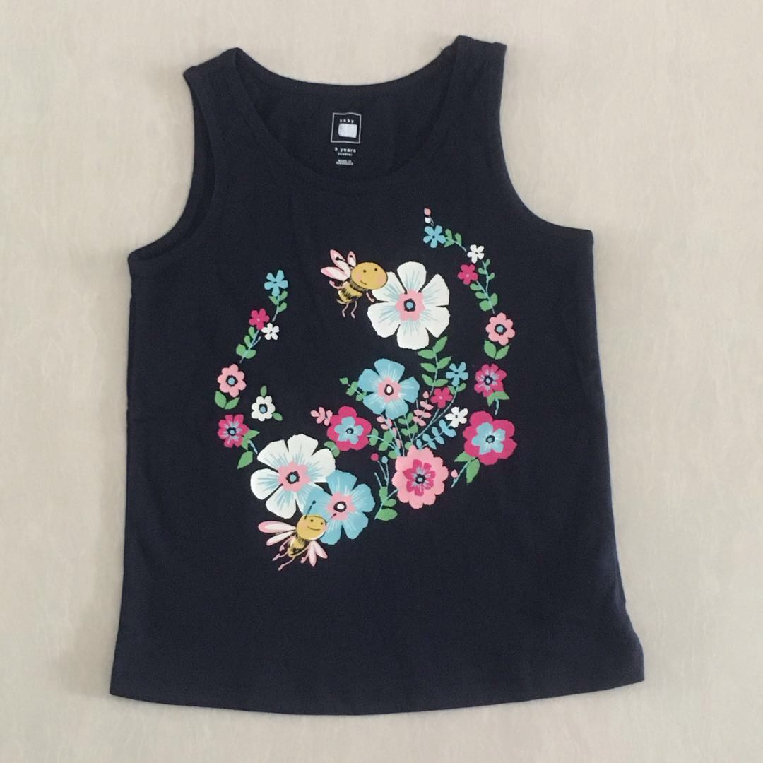 59591a520 3Y BN Baby GAP Tank Top, Babies & Kids, Girls' Apparel, 1 to 3 Years ...
