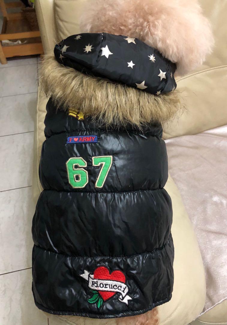 狗狗連帽背心 SS
