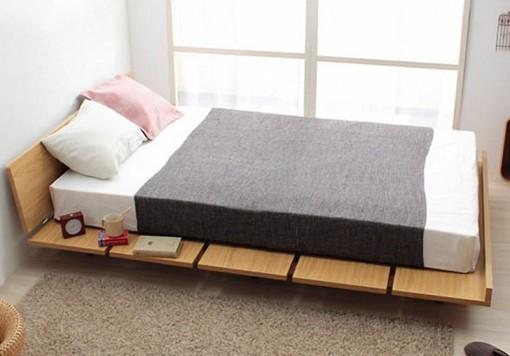 Amaya Wood Bed Frame Platform