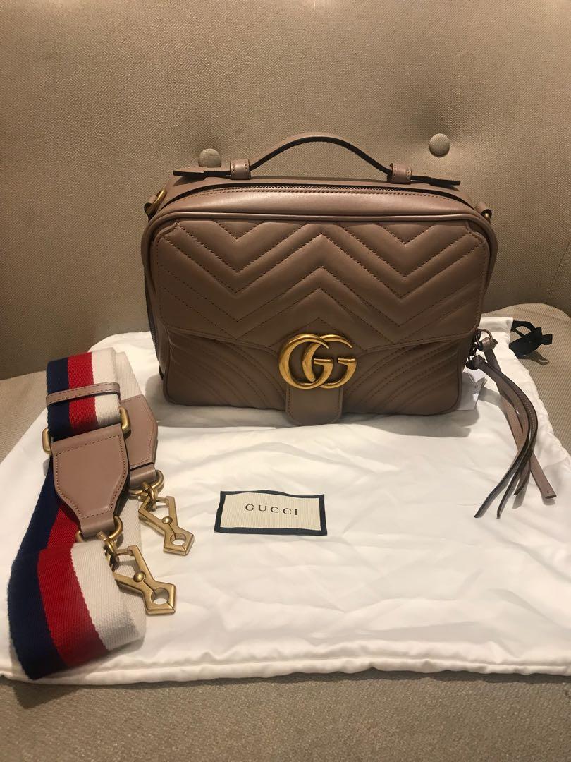 25611e2e0e0a Authentic gucci matellase shoulder bag