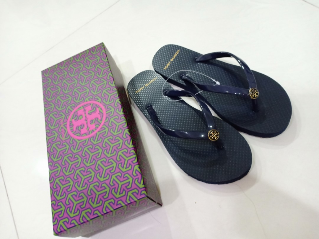915a1dd2e00981 Authentic Tory Burch Slippers