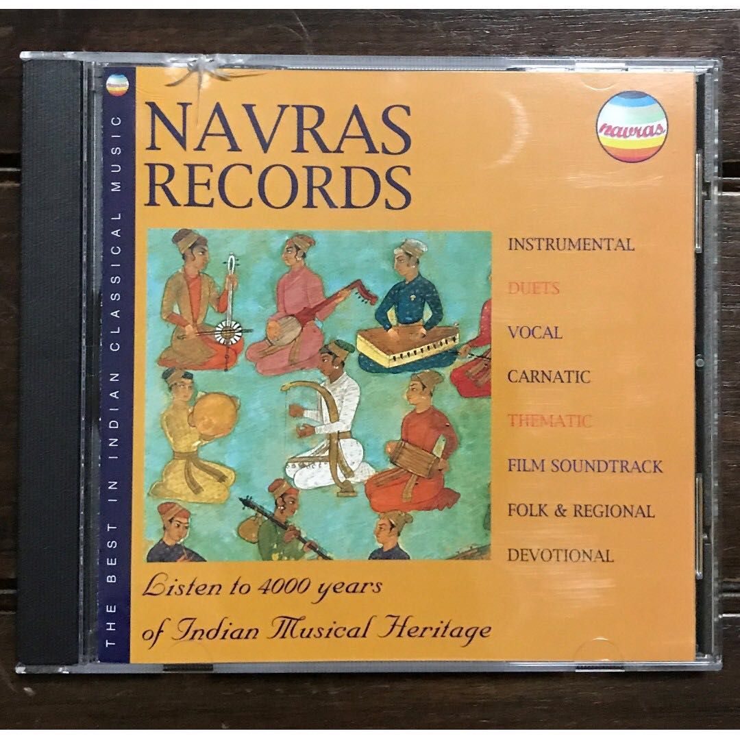 Best in Indian Classical Music / CD by Navras Records