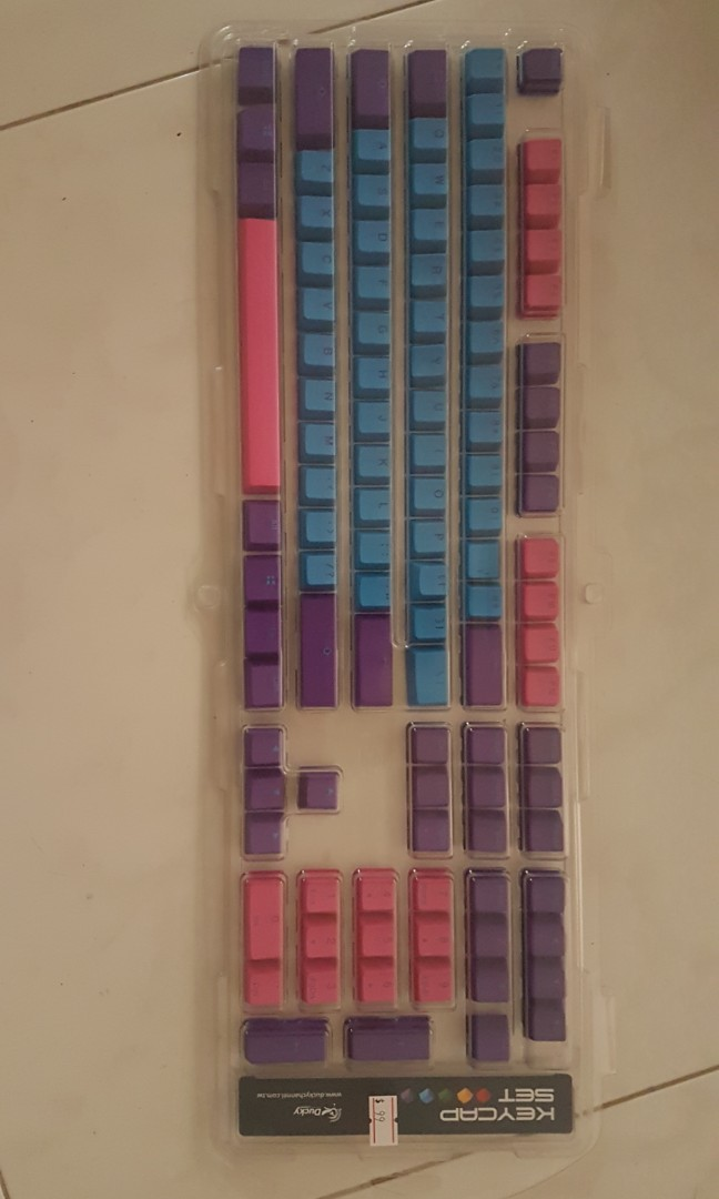 Brand New Ducky Keycaps Joker Electronics Computer Parts