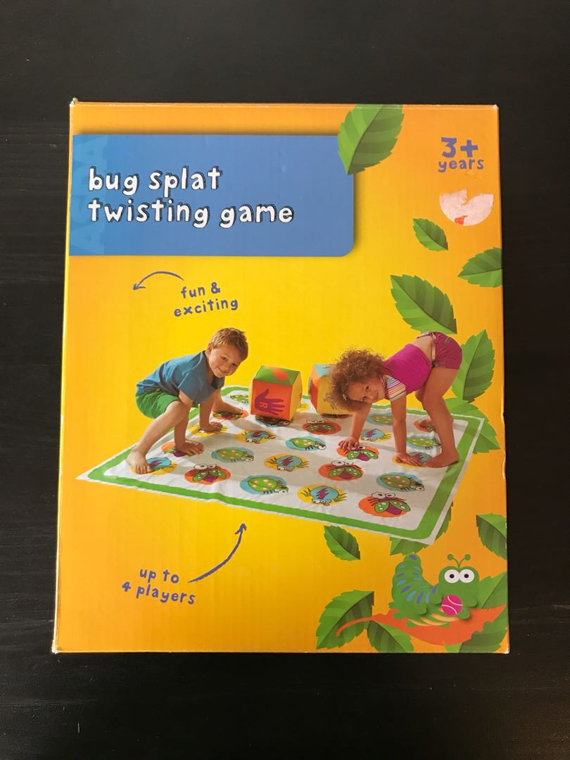 Bug Splat Twister Game