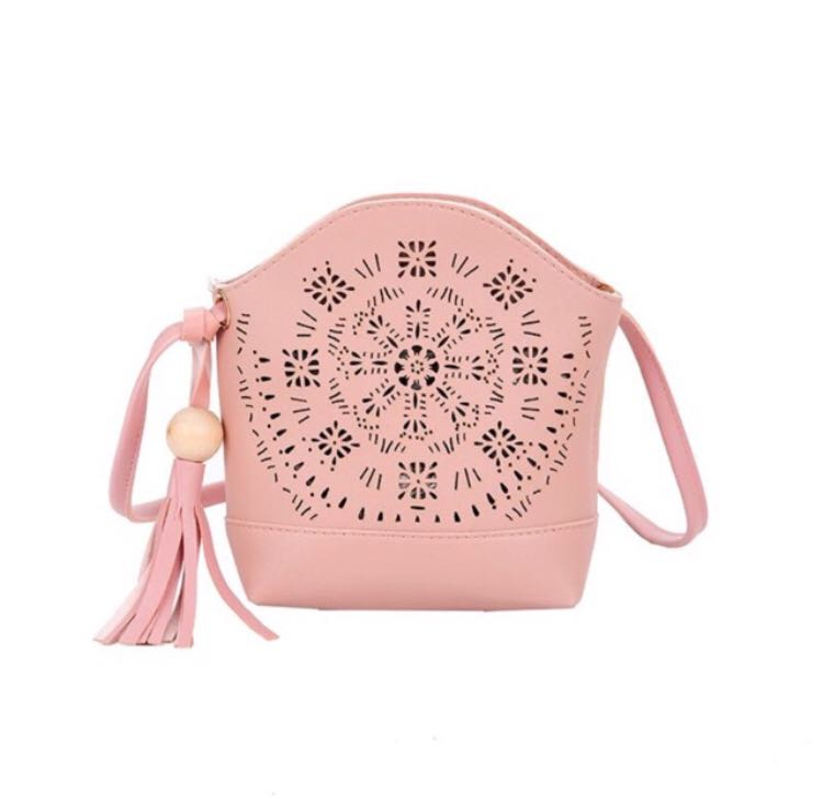 14303069a21d21 Catherine sling bag (pink), Women's Fashion, Bags & Wallets on Carousell