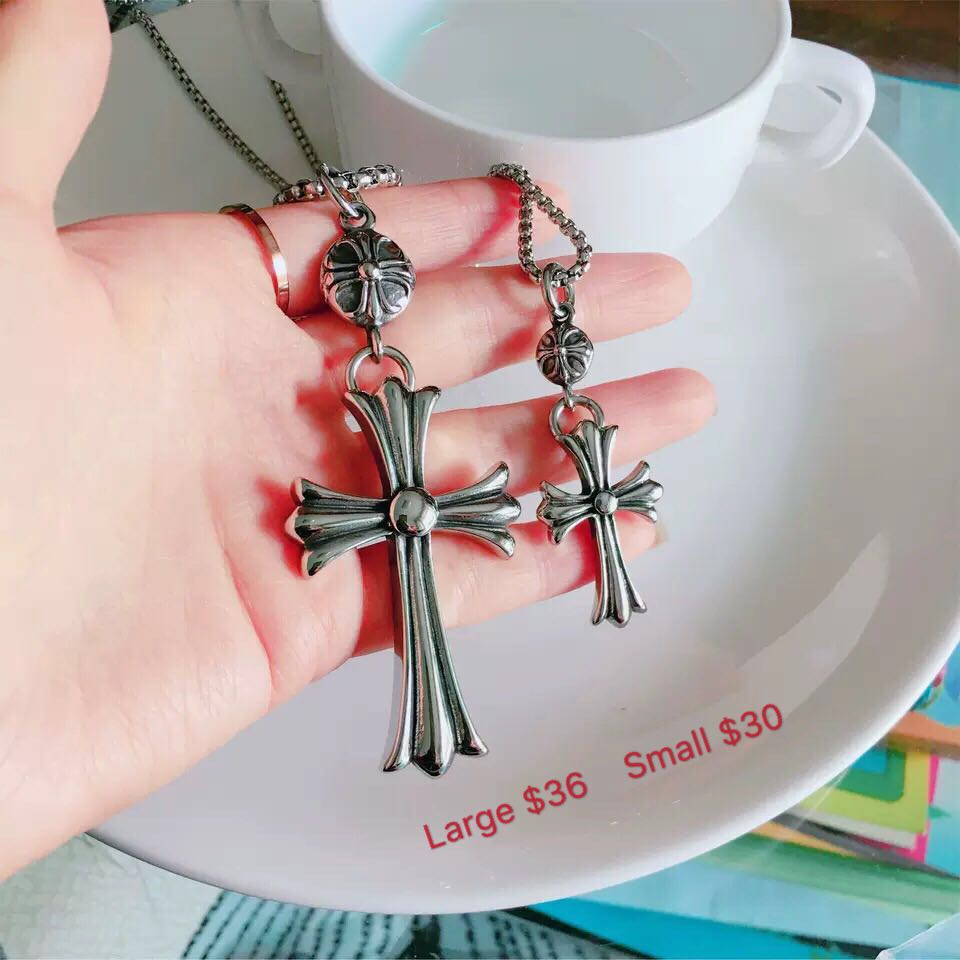 cac9fa00de9 Chrome hearts big cross for sales men s accessories GD g dragon ...