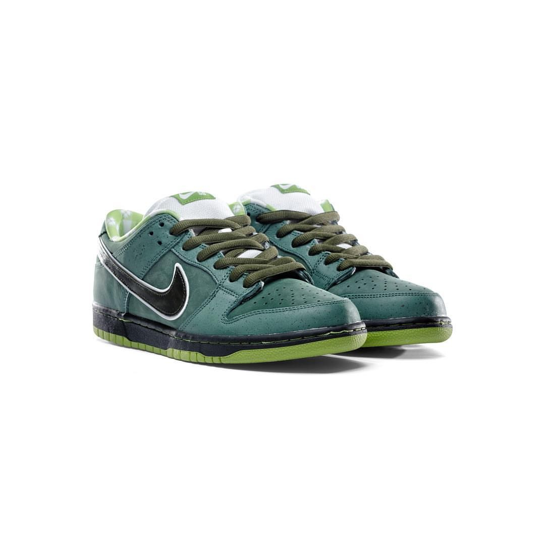 factory authentic e123d ef8bf reduced concepts nike sb dunk green lobster mens fashion footwear sneakers  on carousell c6666 bac7a