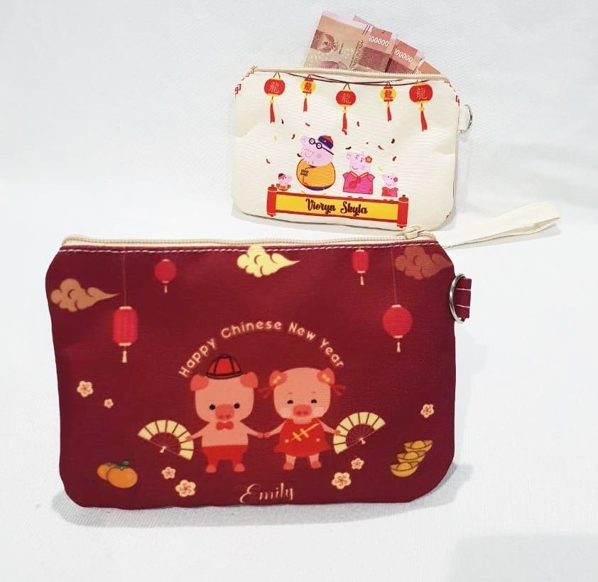 Custom Personalised Chinese New Year Pouch   Red Packet Pouch ... eca132fb5