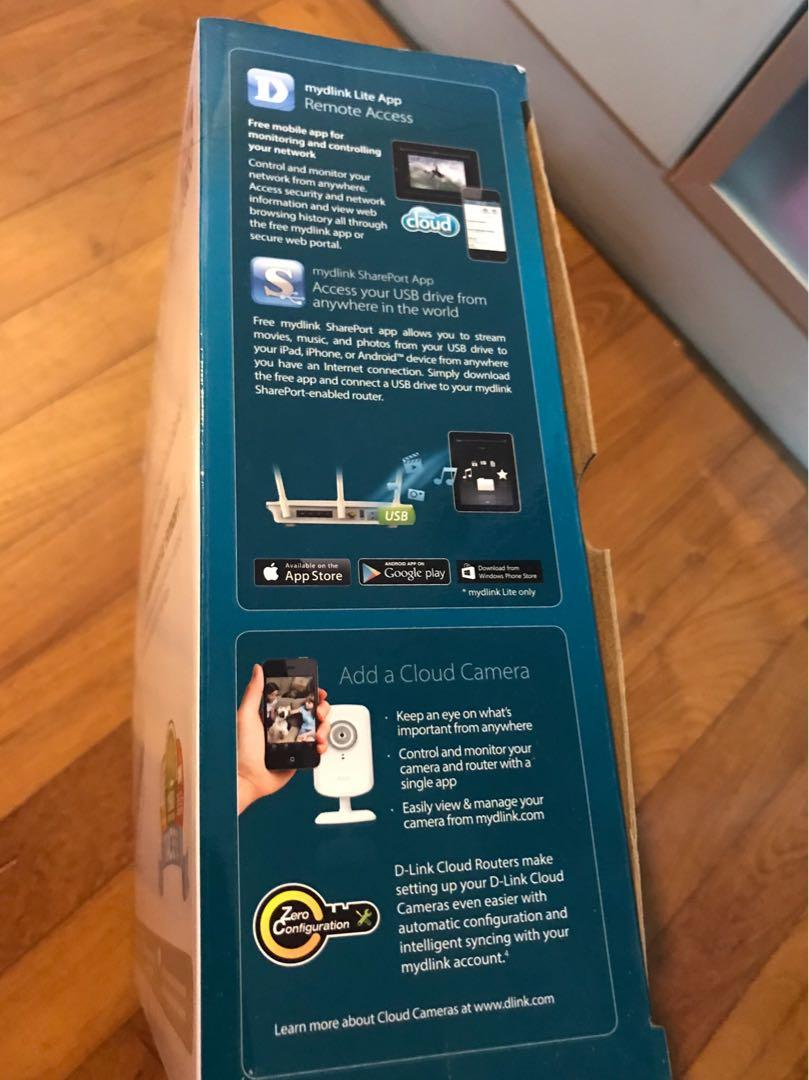 D Link Wireless Router - AC1900 Dual Band Gigabit Cloud  Router