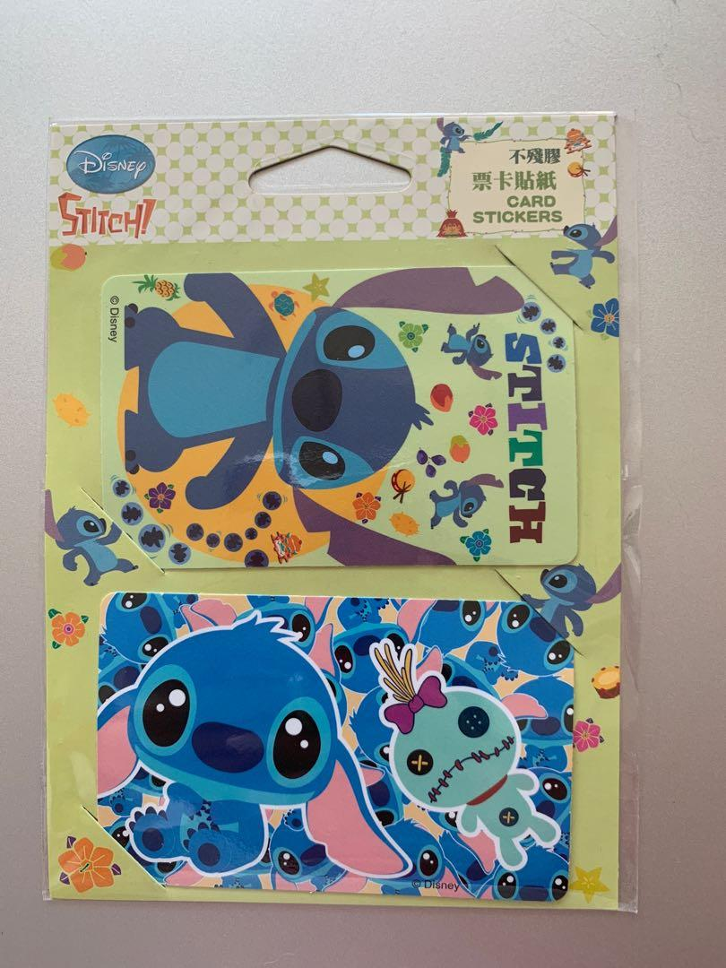 Disney OPAL tap cards Lilo and Stitch Decorating Stickers