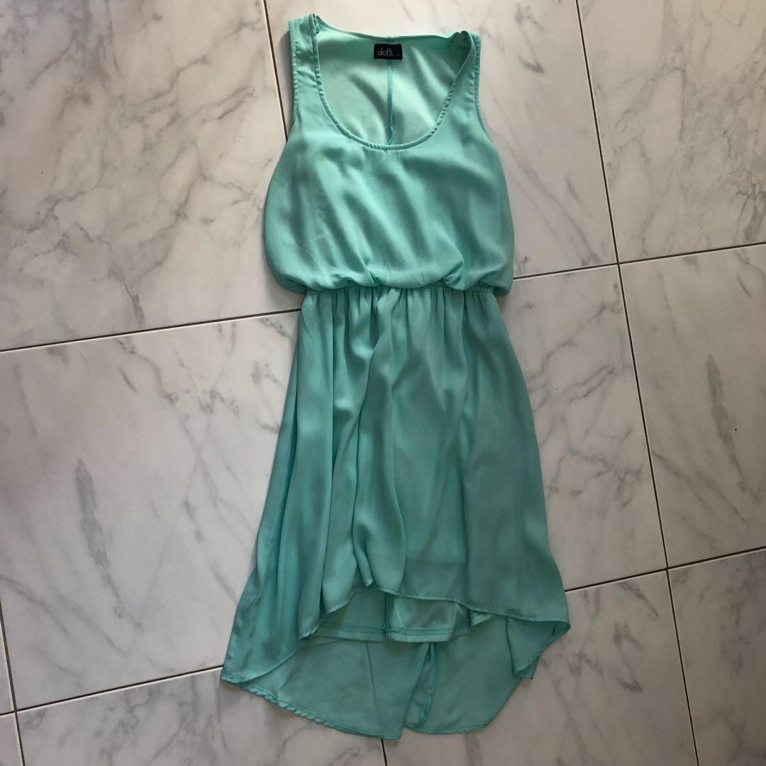 Dotti aqua dress