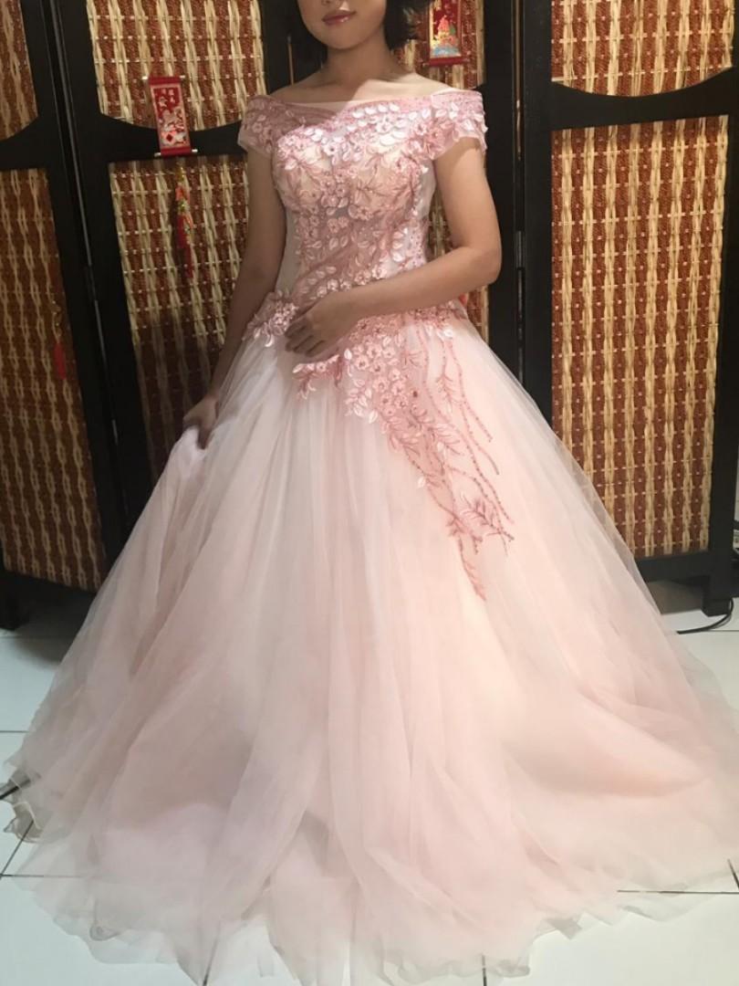 Dress Pesta Wedding Women S Fashion Women S Clothes Dresses