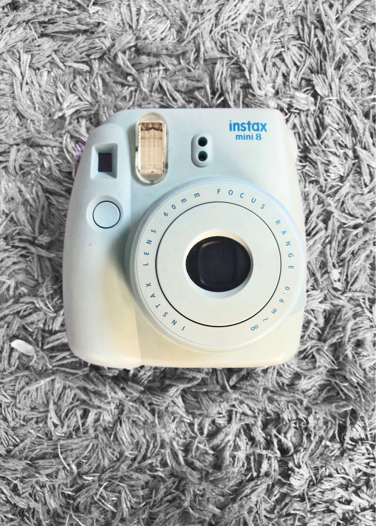 Fujifilm Blue Instax Mini 8, Photography on Carousell