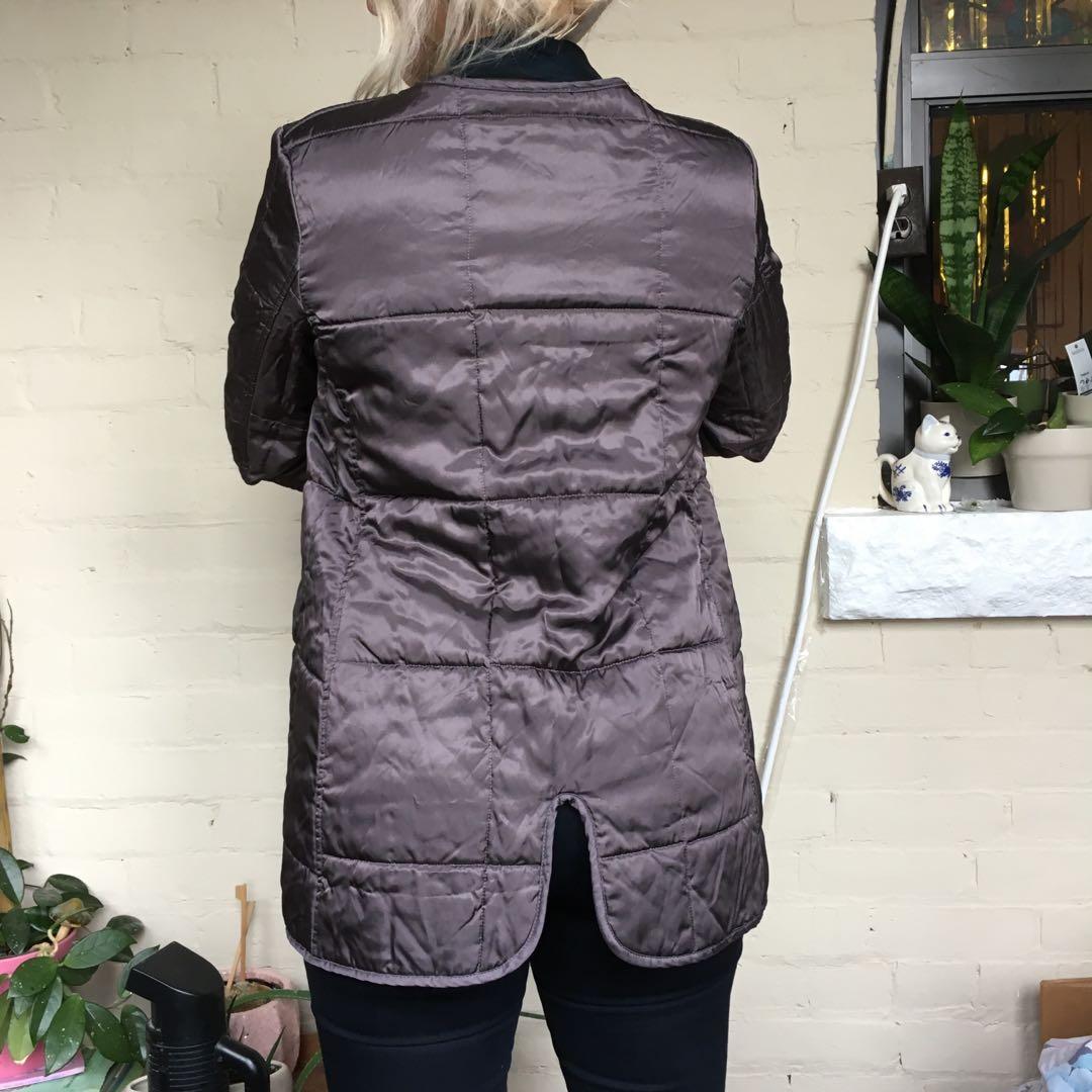 Grey vintage/dead stock coat liner