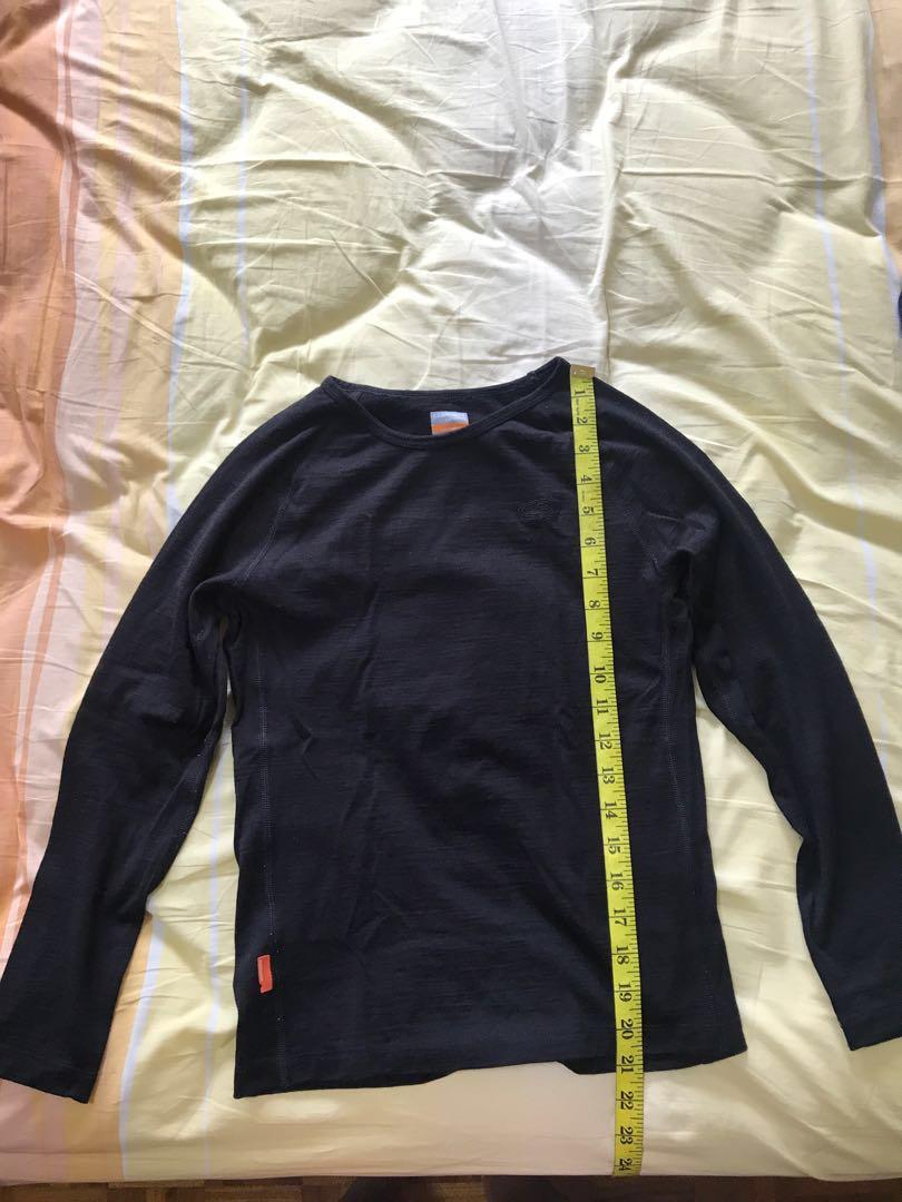447527af51f Icebreaker Merino thermal wear, Luxury, Apparel, Kids' on Carousell