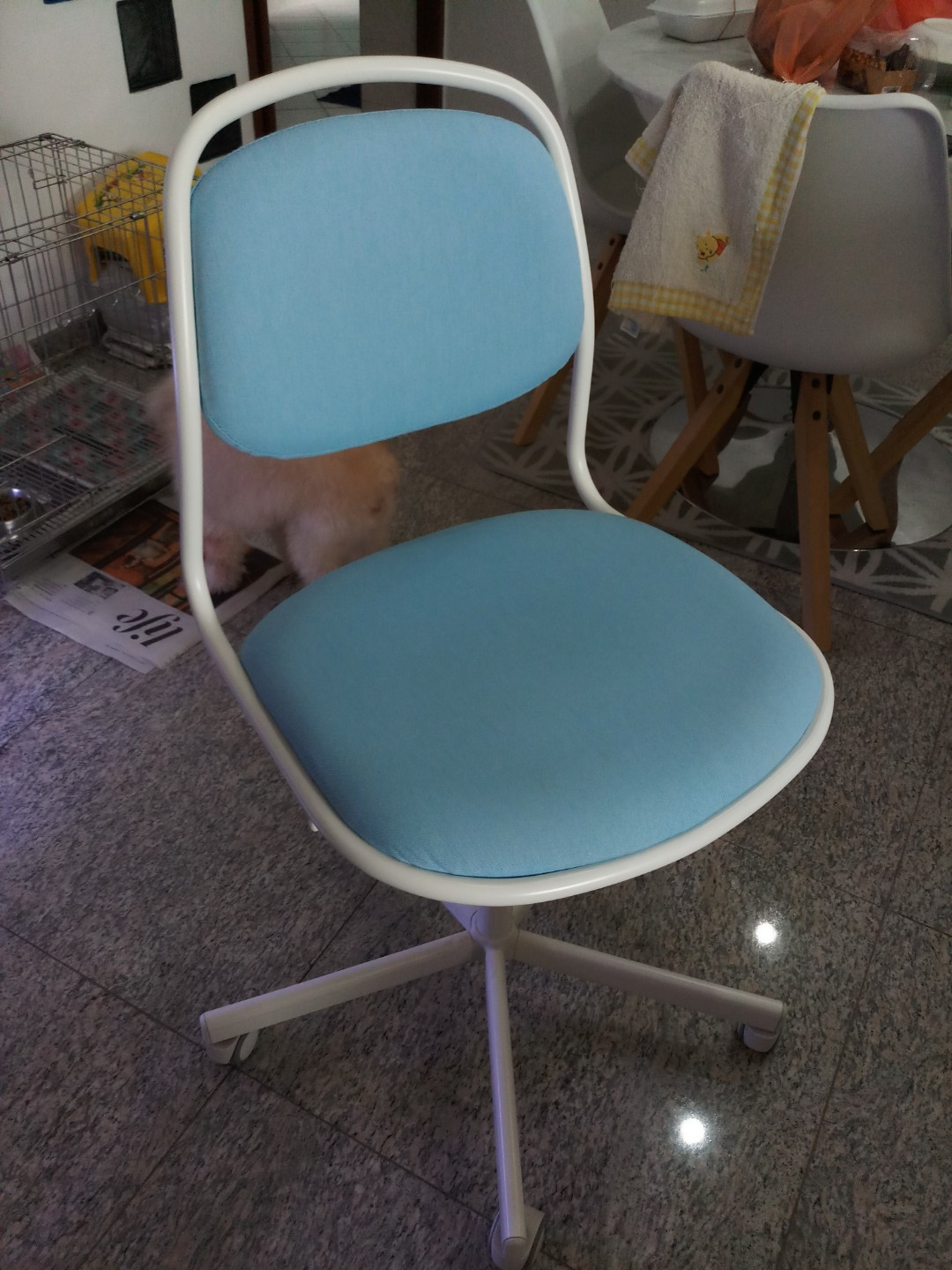 Remarkable Ikea Blue Chair Squirreltailoven Fun Painted Chair Ideas Images Squirreltailovenorg