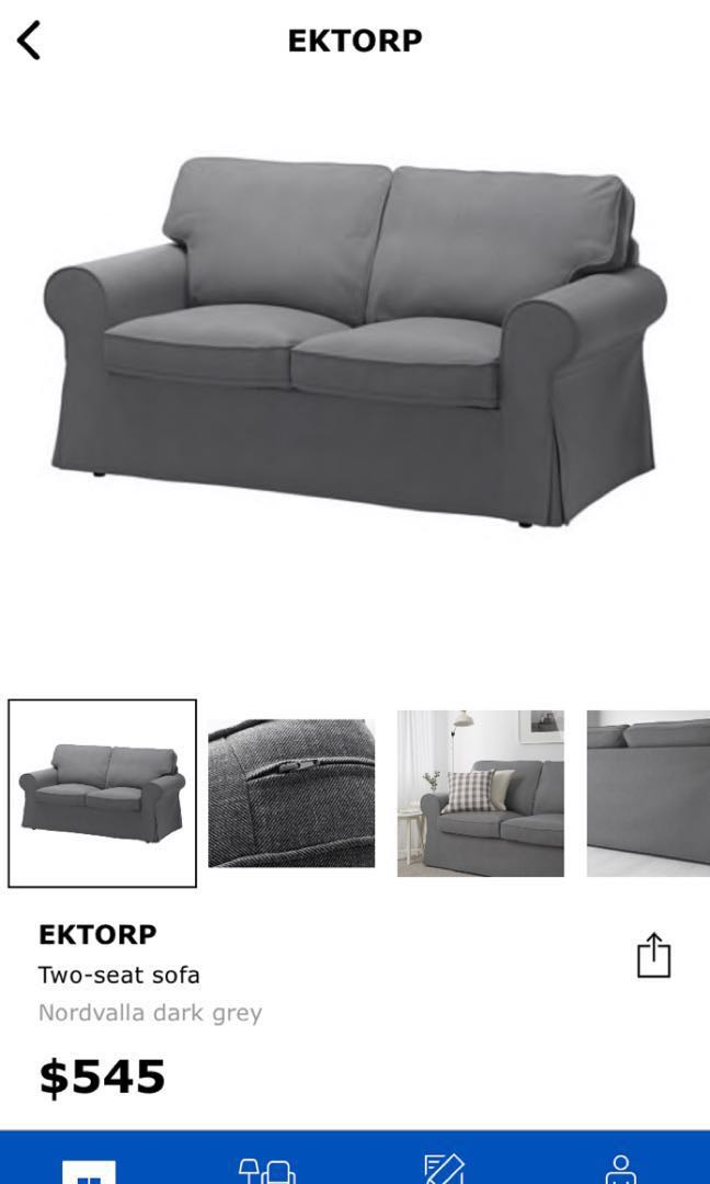 Ikea Ektorp 2 Seat Sofa