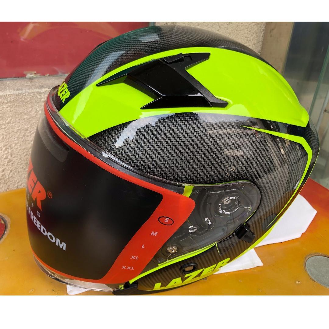 INSTOCK - LAZER JH5 Carbonio Green (New)