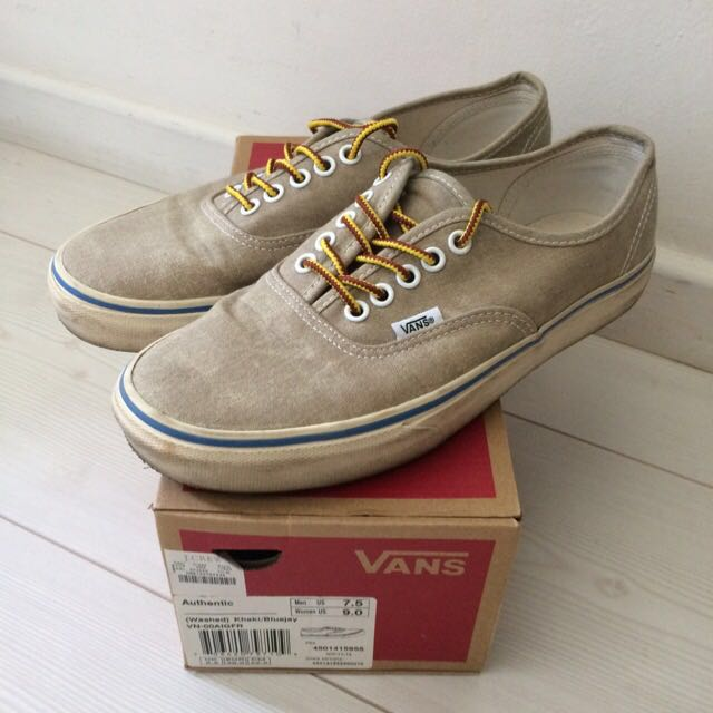 5e0d1319b9 J. Crew x Vans Authentic