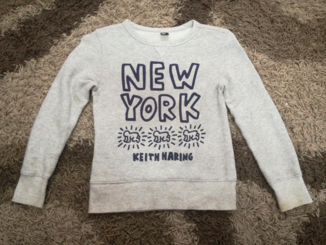 622c897e Keith Haring Uniqlo Sweatshirt, Babies & Kids, Boys' Apparel, 8 to ...