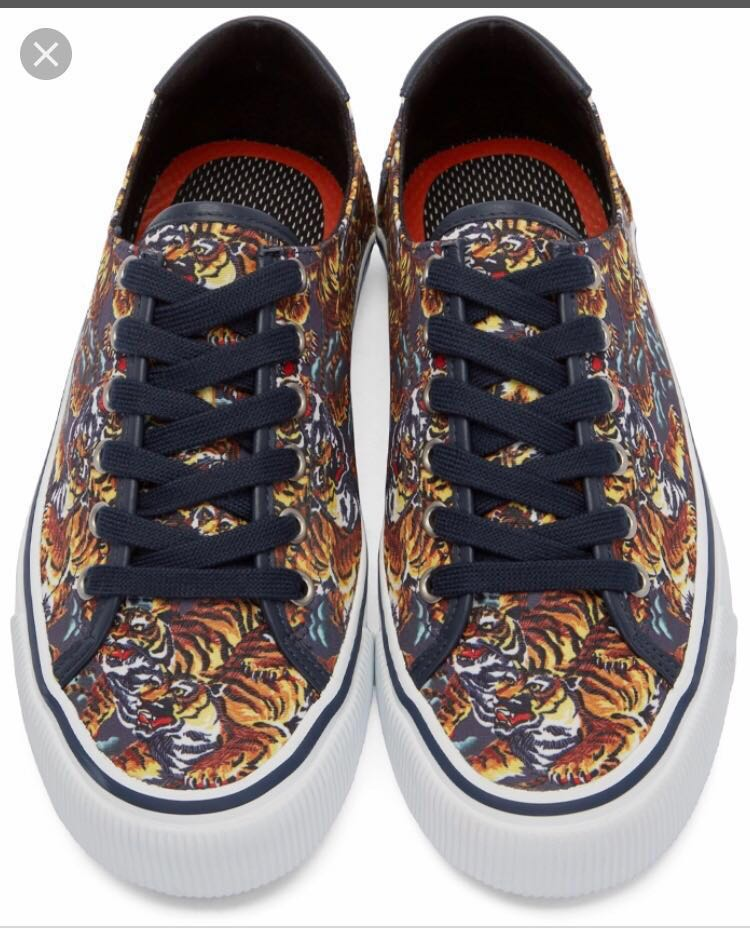 fcf564a90 Kenzo flying tiger sneakers, Women's Fashion, Shoes, Sneakers on ...