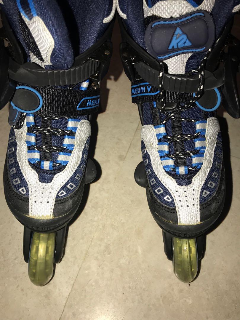 2e237e82e37 Kids in-line Skates K2 Merlin, Sports, Sports & Games Equipment on ...