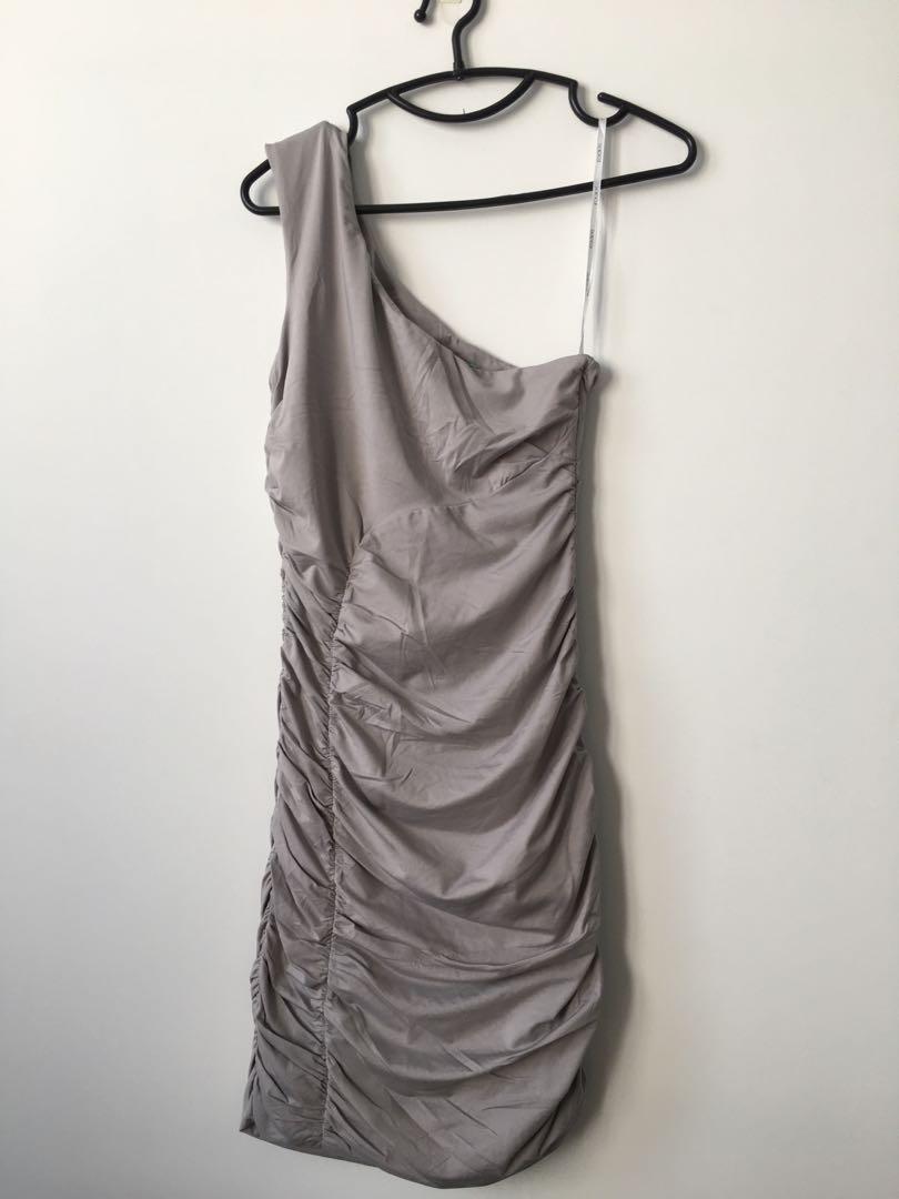 Kookai one shoulder dress 6e46fcb17