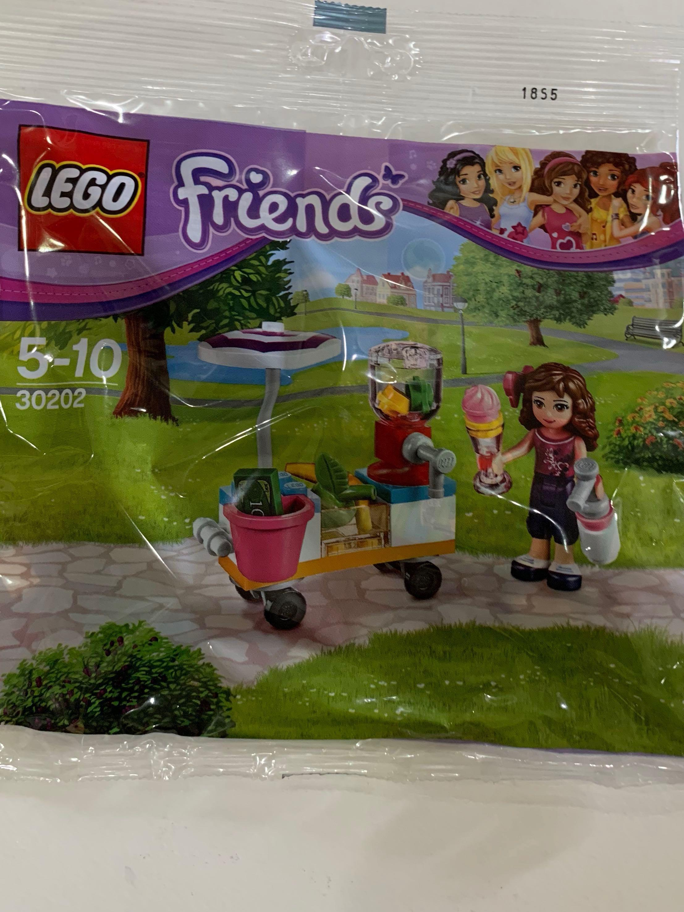 *BRAND NEW* Lego FRIENDS 30202 OLIVIA Smoothie Stand Polybag