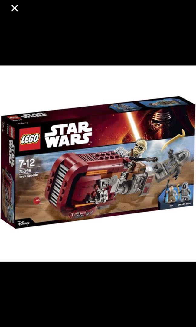 Lego Star Wars 75099 Reys Speeder Toys Games Others On Carousell