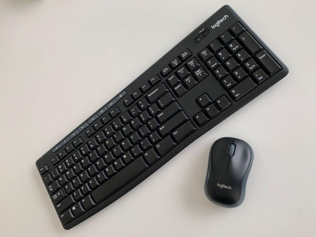 Logitech K270 Wireless Keyboard And Mouse