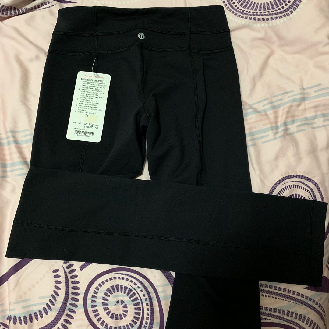 11776f9c122f5f LULULEMON tights - new with tags size 4, Sports, Sports Apparel on ...