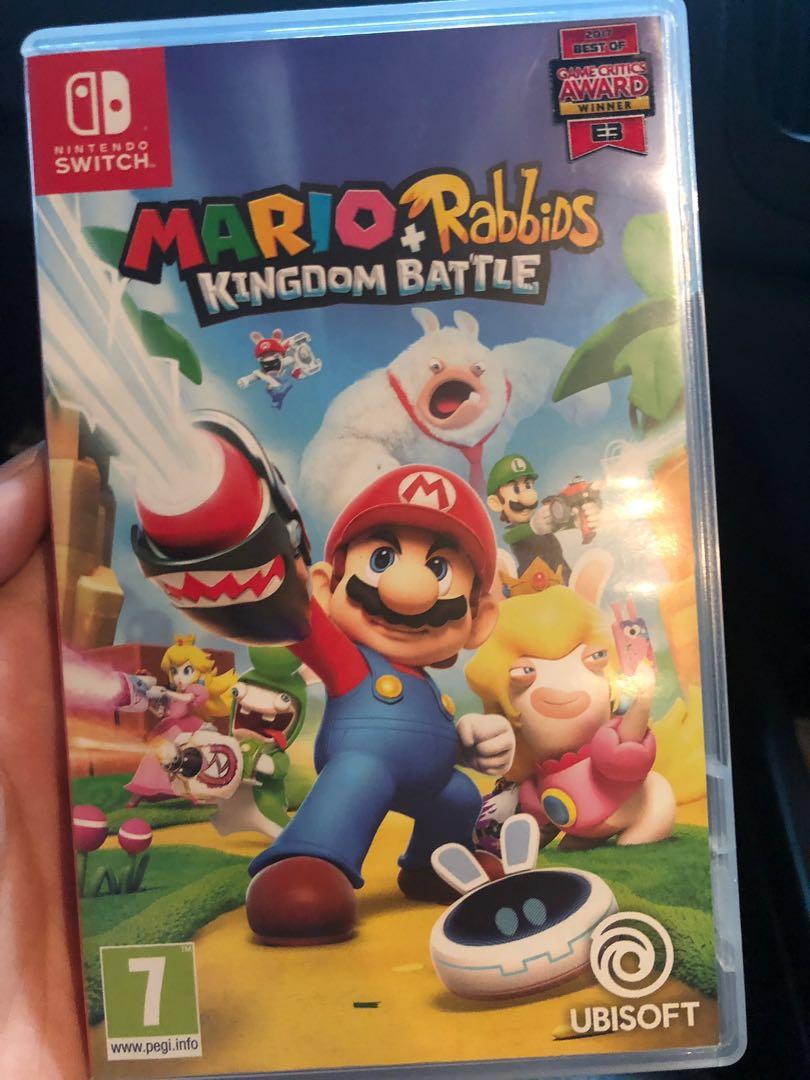 5feefa1eae61 Mario Rabbids Kingdom Battle Nintendo Switch