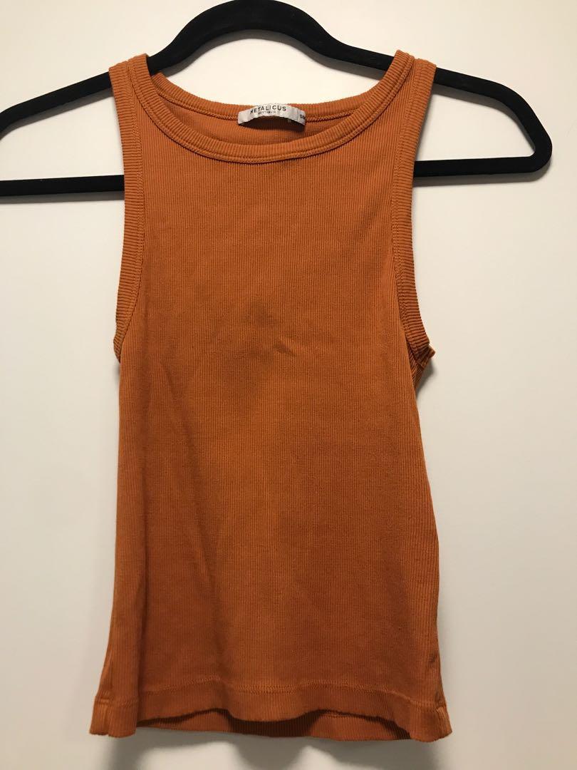 Metalicus orange singlet